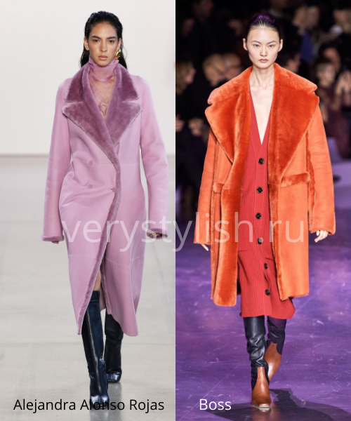 Модные дублёнки осень-зима 2020/21. Фото № 12