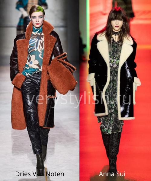 Модные дублёнки осень-зима 2020/21. Фото № 10