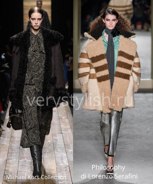 Модные дублёнки осень-зима 2020/21. Фото № 6