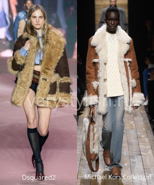 Модные дублёнки осень-зима 2020/21. Фото № 4