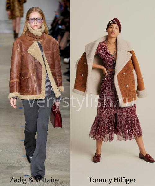 Модные дублёнки осень-зима 2020/21. Фото № 3