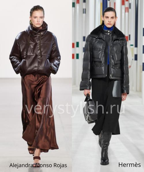 Модные куртки и пуховики осень-зима 2020/21 Фото № 11