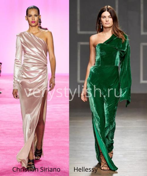 Модные вечерние платья осень-зима 2020/21. Фото № 10