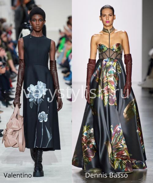 Модный тренд осени 2020 - высокие перчатки. Фото № 8