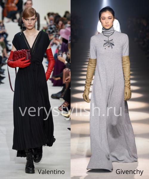 Модный тренд осени 2020 - высокие перчатки. Фото № 12