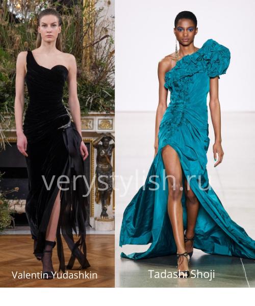 Модные вечерние платья осень-зима 2020/21. Фото № 11