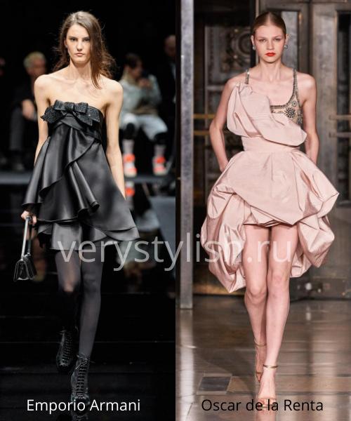 Модные вечерние платья осень-зима 2020/21. Фото № 4