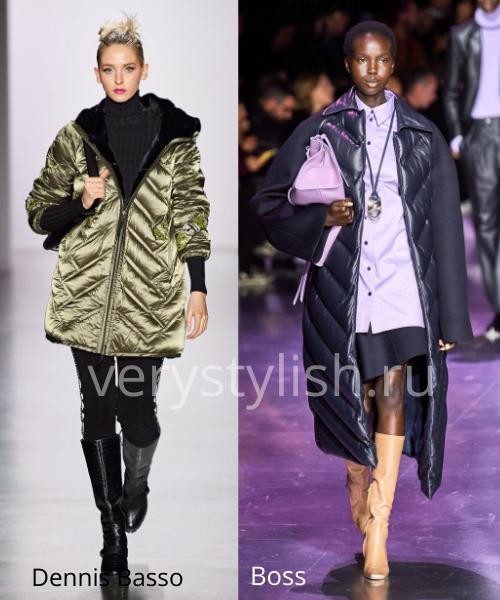 Модные куртки и пуховики осень-зима 2020/21 Фото № 12