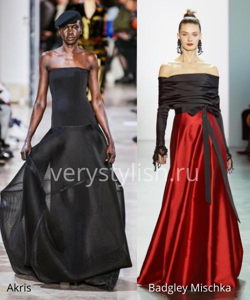 Модные вечерние платья осень-зима 2020/21. Фото № 16