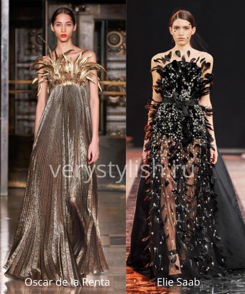 Модные вечерние платья осень-зима 2020/21. Фото № 36