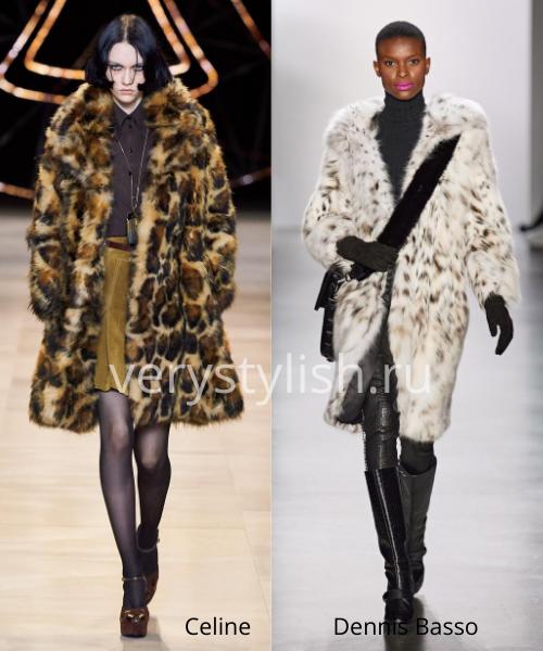 Модные шубы осень-зима 2020/21. Фото № 2