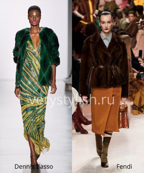 Модные шубы осень-зима 2020/21. Фото № 5