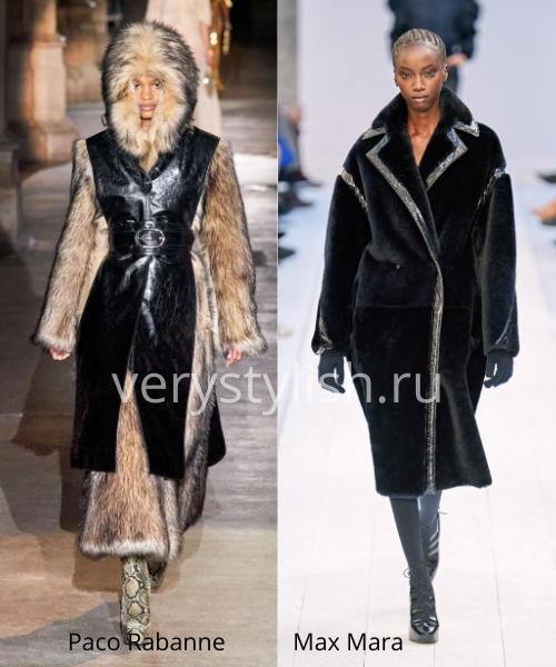 Модные шубы осень-зима 2020/21. Фото № 25