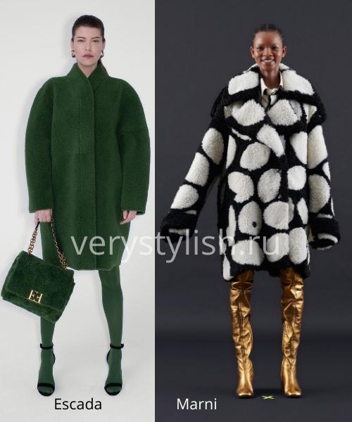 Модные шубы осень-зима 2020/21. Фото № 18