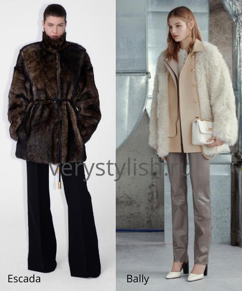 Модные шубы осень-зима 2020/21. Фото № 10