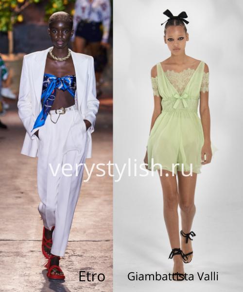 Модные тенденции весна-лето 2021. Фото № 50