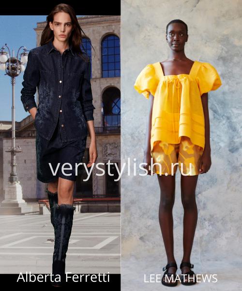 Модные тенденции весна-лето 2021. Фото № 20