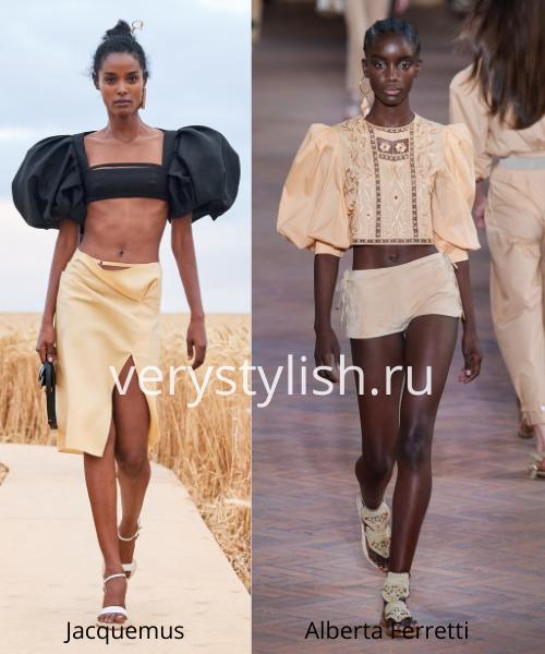 Модные тенденции весна-лето 2021. Фото № 1