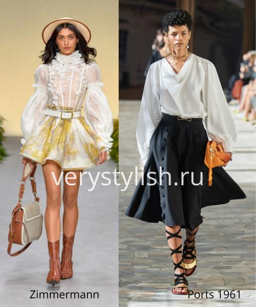 Модные тенденции весна-лето 2021. Фото № 5